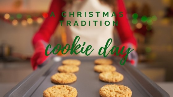cookie day - a Christmas tradition