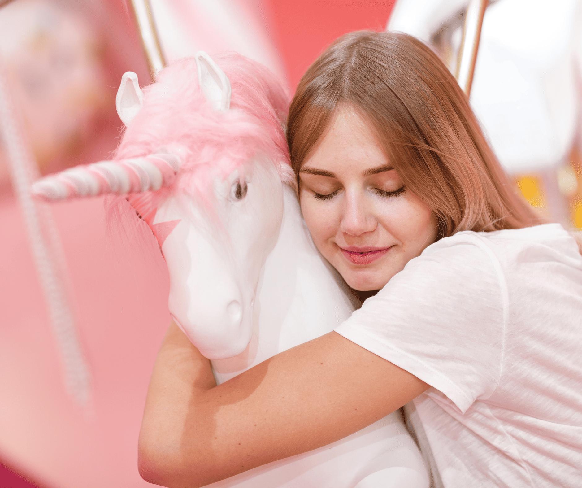 Unicorn and mom