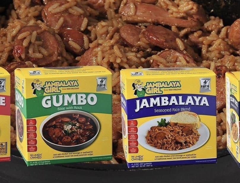 Jambalaya girl gumbo and jambalaya