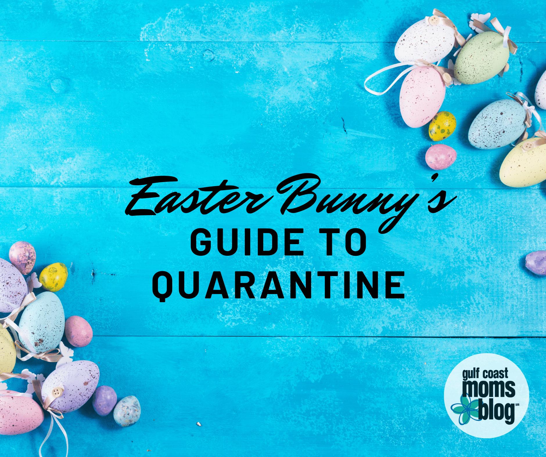 Easter Bunn's Guide to Quarantine