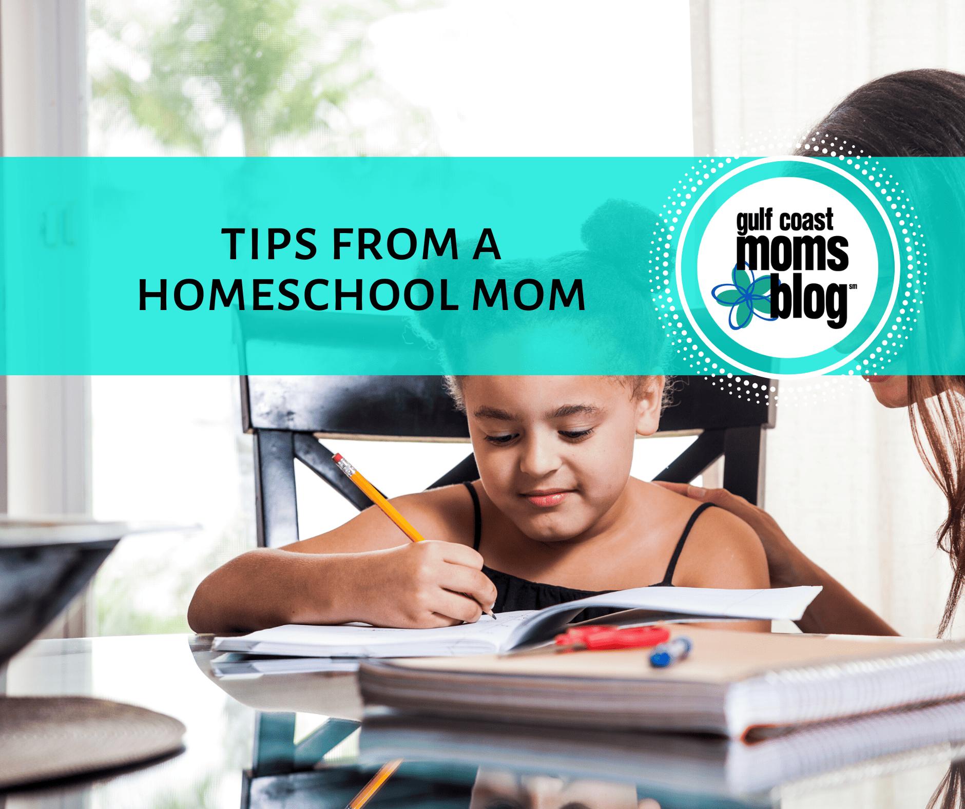 tips from homeschool mom