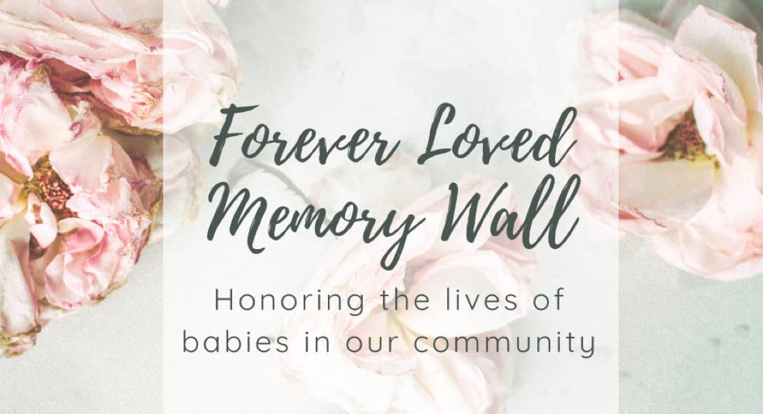 Forever loved memory wall