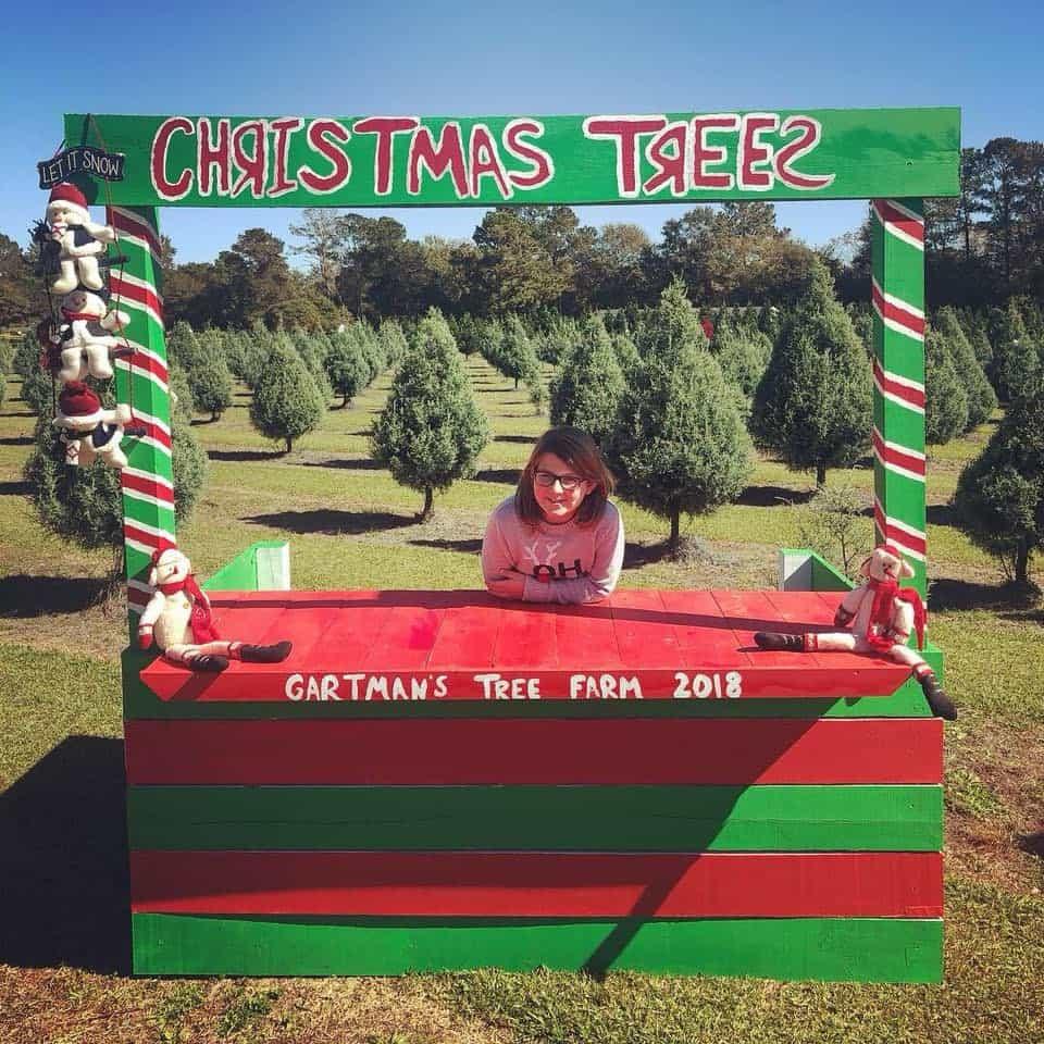 Gartman's Christmas tree farm
