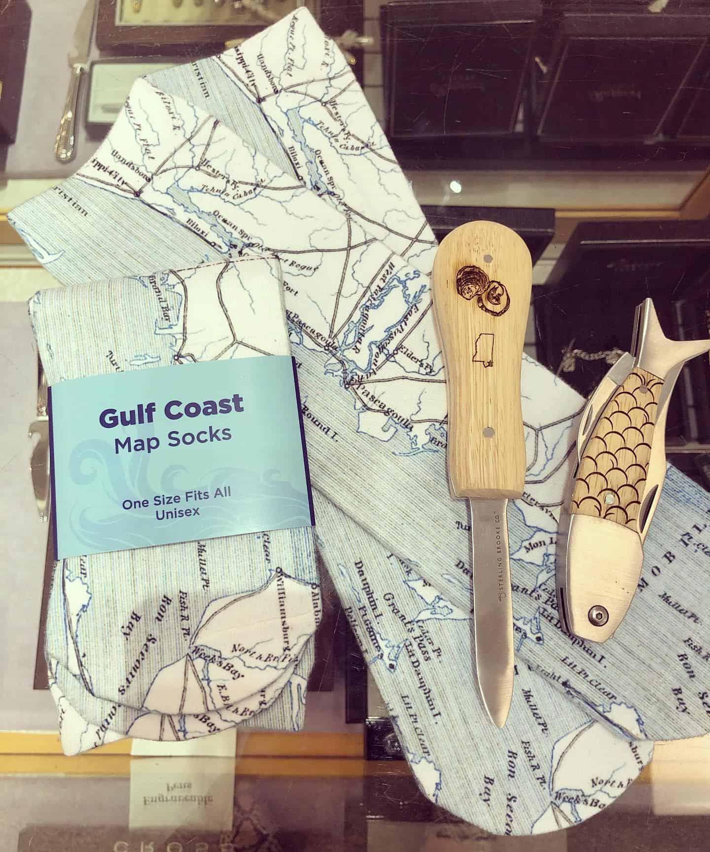 Gulf coast socks and tie
