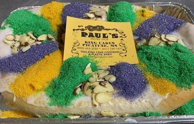 Paul's pastry king cake