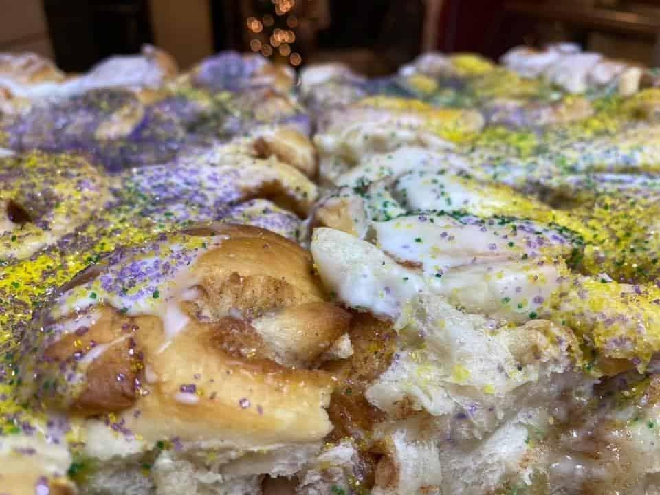 Quality bakery king cake