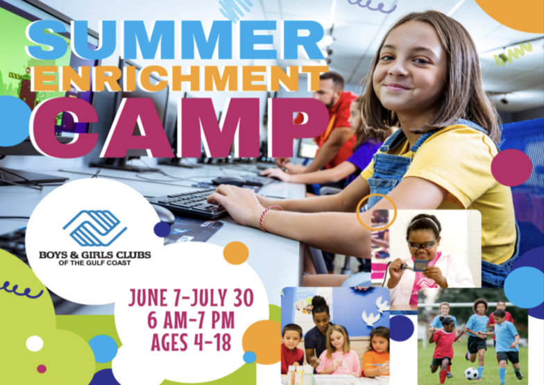 Boys and girls club of the gulf coast Summer camps
