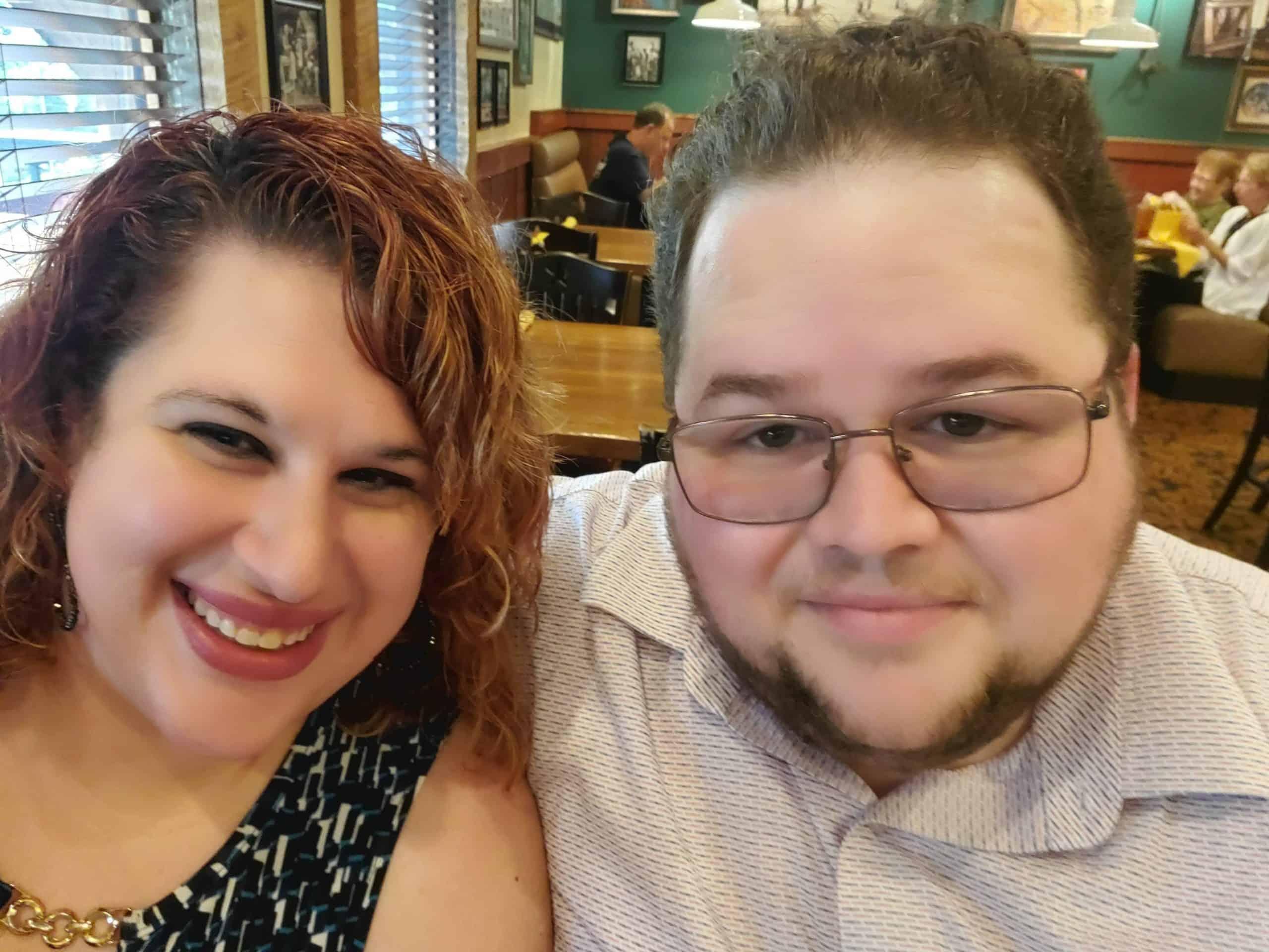 Angela Westbrook and husband