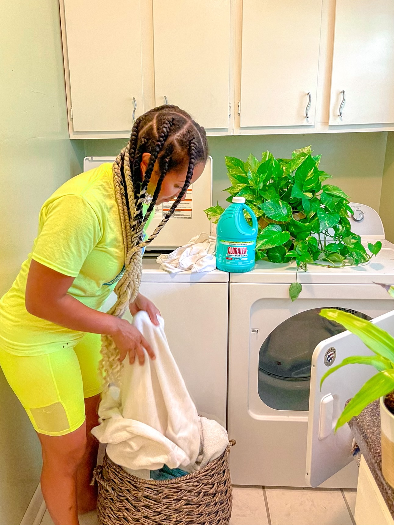 CLORALEN mom cleaning