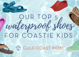Top 5 summer shoes for kids gulf coast mom