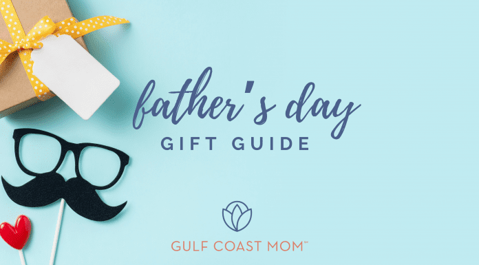 Father's Day gift guide gulf coast mom