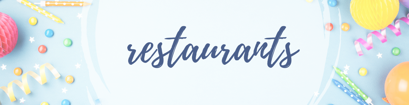 Restaurants gulf coast mom Ultimate birthday party guide