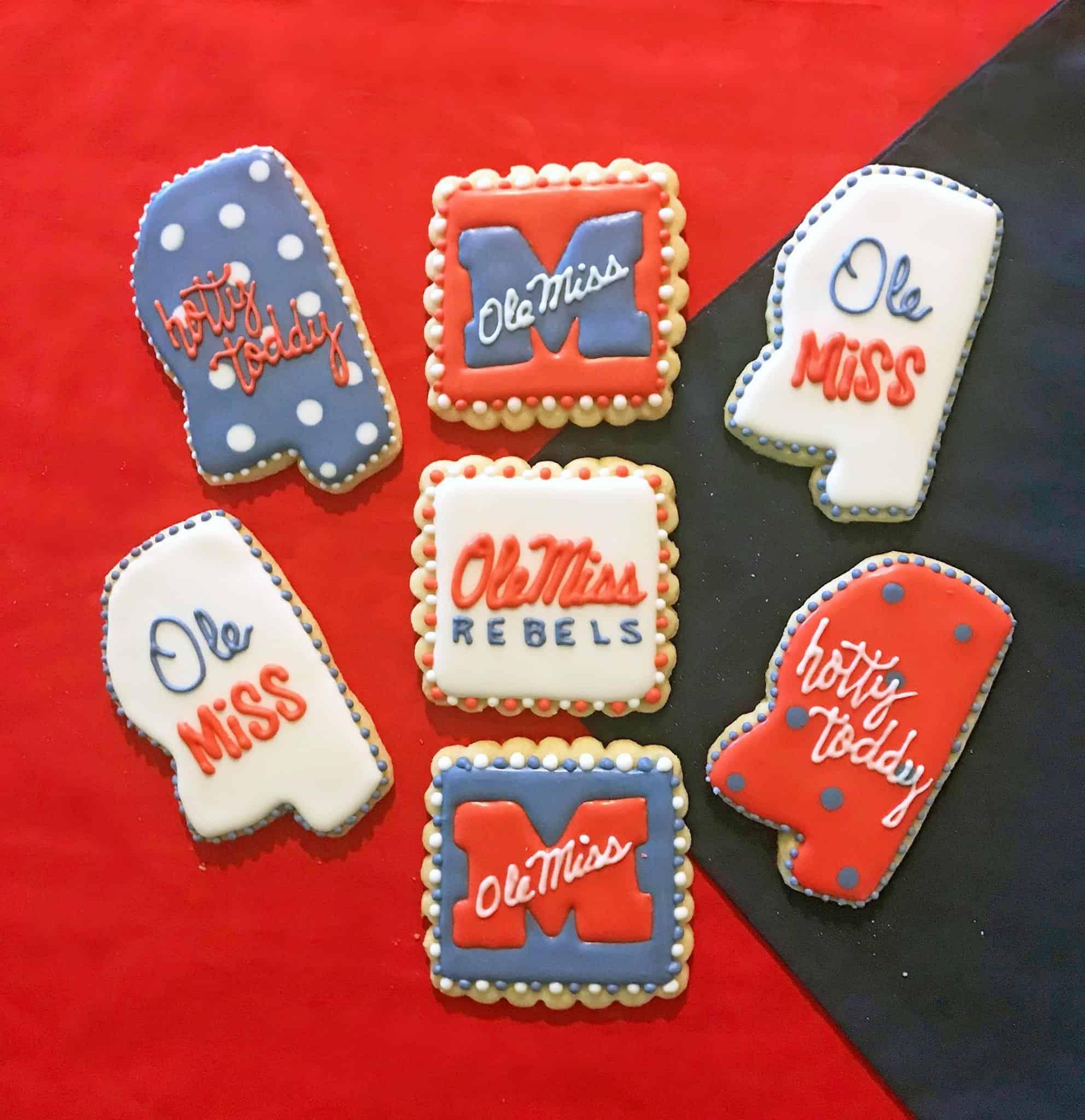 Ole miss Cookies Brenda's Iced Cookies