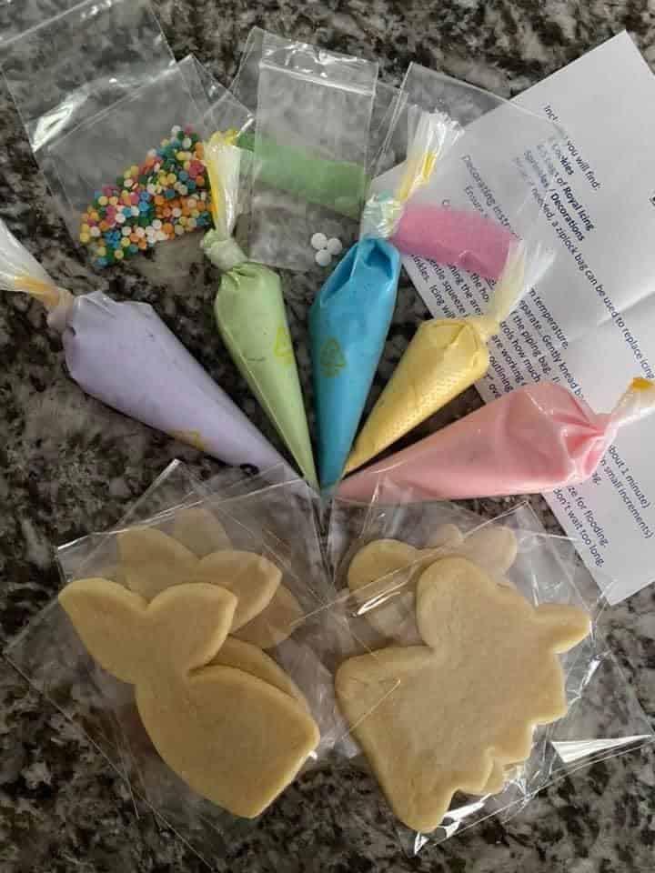 Cookies kits Brenda's iced cookies