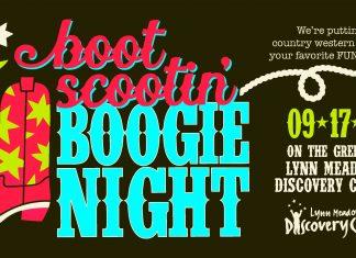 Lynn Meadows boot scootin' boogie night