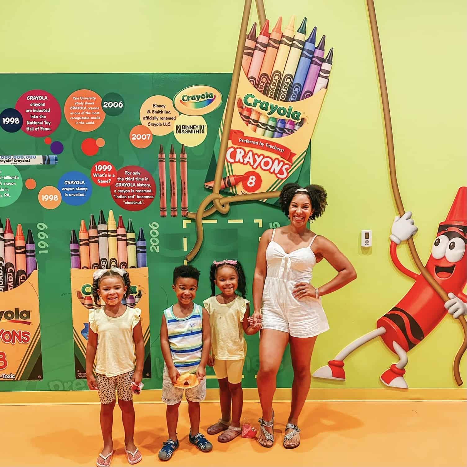 Crayola Experience moms love to visit Orlando