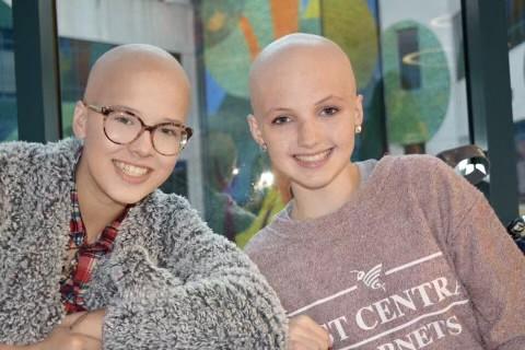 Stepsisters Childhood Cancer Awareness Month 2